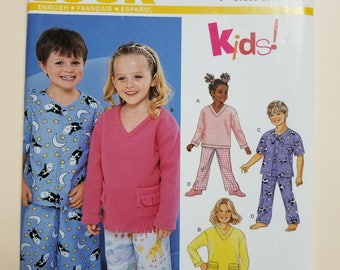 Simplicity New Look Child's Pattern Size 3-8  #6131