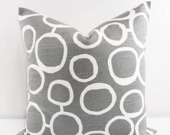 SALE Gray Pillow Cover. Ash Gray Throw pillow cover. Gray Sofa pillow. Sham Cover. Decorative Pillow. Gray white. Cushion cover. Select size
