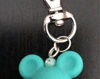 Mickey head keychain