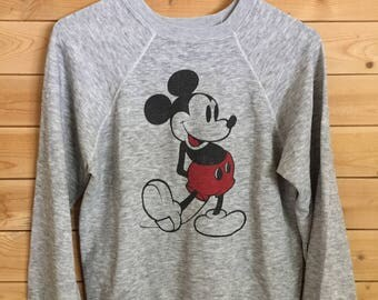 Vintage Mickey Mouse Sweatshirt // Vintage Mickey Sweatshirt // Vintage Disney Shirt