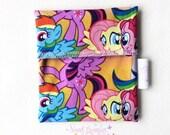 Small Wet Bag - * Wrapper * Dry Bag * Food Bag * Foldover Bag *Beauty Bag