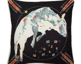 Taurus Zodiac Cushion