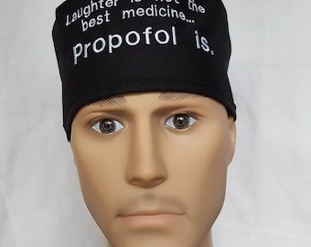 PROPOFOL Anesthesia Pick color pick hat Surgical scrub hat operating room hat theatre cap sweatpad Anesthesia