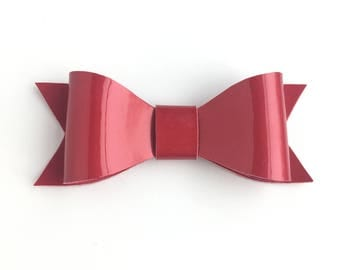 Red Hair Bow, Valentines Bow, Hair Bow, Bow