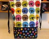 Large drawstring sheep bag