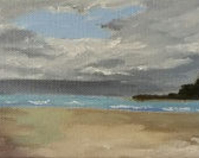 Low Tide - Oil Painting