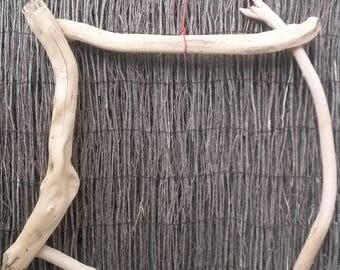 Driftwood frame finish, wood still, large size