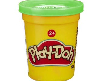 Jar of Play Doh - Green