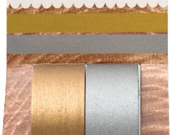 Masking tape / decorative tape / Washi tape gold silver