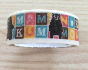 Masking tape / decorative tape / Washi tape mascott Japan