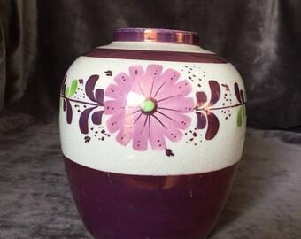 Vintage Gray's Pottery stoke on trent england vase