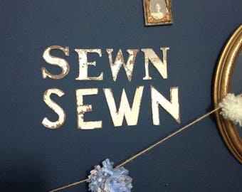 Beautiful old wearther vane letters, old metal letters, decorative wall hanging, display letters, wall art, letters, NEWS, compass letters