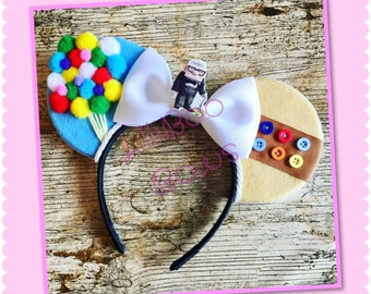 Up! inspired mouse ears | Free UK shipping