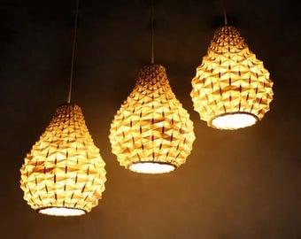 bamboo lighting fixtures. gourd shaped bamboo chandelierpendant lightingpendant lightsrustic lamp fixturesbamboo lighting fixtures i