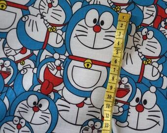 145cm*50cm/57*19.7 Inch PVC Nylon Waterproof Japanese Doramon Fabric