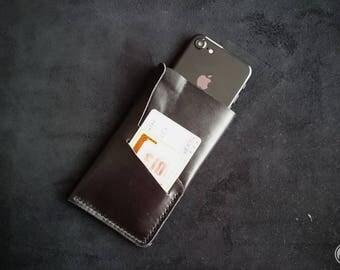 Leather iPhone 6s case, iPhone 6, iPhone SE, iPhone 5s, iphone 6s plus, iPhone 7 / 6s / 6 leather, wallet, cardholder