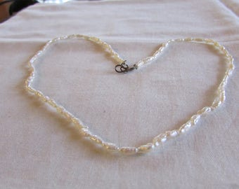 Freshwater Pearl Necklace  15 7/8""
