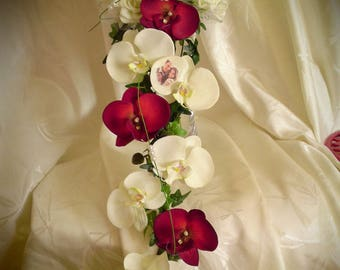 Bouquet Red/ivory or white NIAGARA to customize