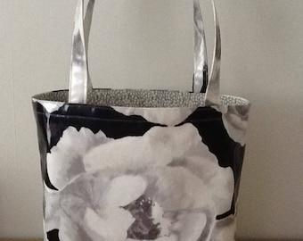 Oilcloth tote bag/shopper/ lunch bag