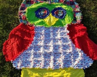 Owl Rag Quilt
