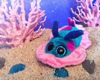 Nudibranch plush (seaslug)