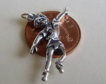 Sterling Silver Peter Pan Charm