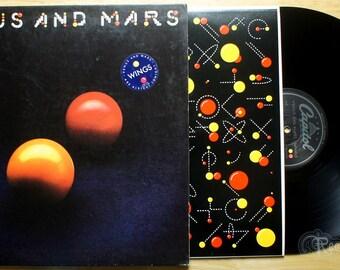 Wings - Venus and Mars (1975) Vinyl LP; Paul & Linda McCartney