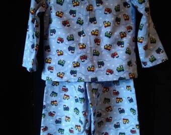 Boys Flannel Pajamas