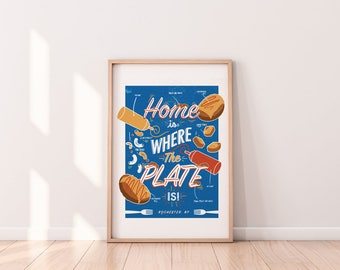 The Plate, Rochester, NY Print