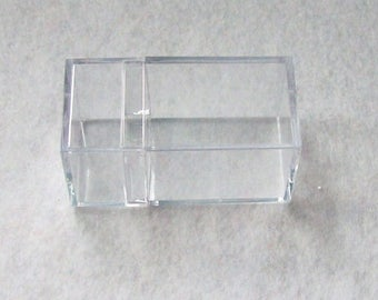 Plastic box container small acrylic box rectangular box for storage