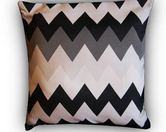 graphic black and grey Cushion cover 40 X 40