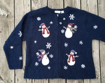 Vintage Ugly Christmas Sweater Holiday