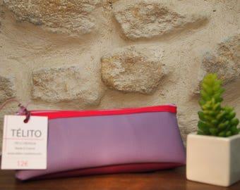 Kit school bowknot, fuchsia and plum