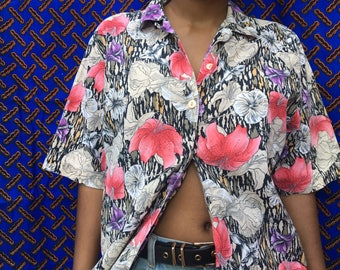Hawaiian Button Up