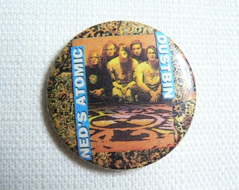 Vintage Early 90s Ned's Atomic Dustbin Pin / Button / Badge