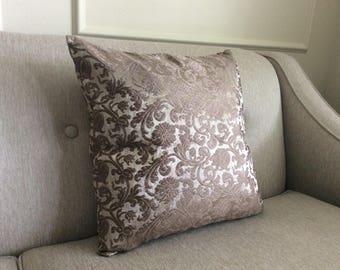 Luxury Italian fabric pillow case -  FREE shipping