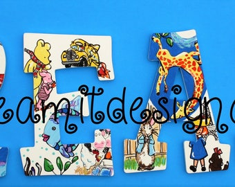 Storybook READ Letters -- Set of 4