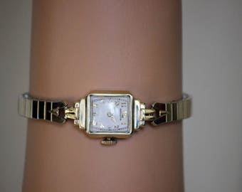 14 Karat Gold Hamilton Watch