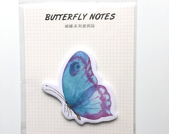 Butterfly memo pad