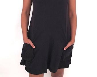 MR528 Voyager Tunic (Shirt dress, sleeveless, pocket dress, flattering, plus size,