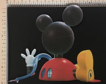 Mickey Mouse club house printed cut out clipart die cut