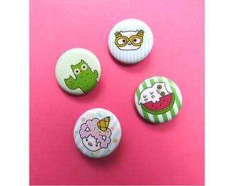 Cat Pin-Cat Magnet-Cat Pins-Gift For Her-Bday Gift-Summer-Bday Gift for Kid-Cat Gifts
