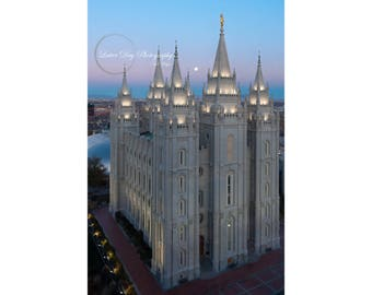 Salt Lake City Temple - Fine Art Photography Print - Home Decor LDS Mormon Temple