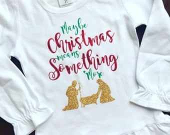 Maybe christmas means something else