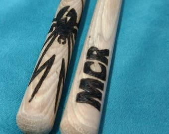 My Chemical Romance drum sticks