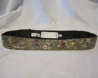 Michelle Stuart Beaded, Jeweled Belt
