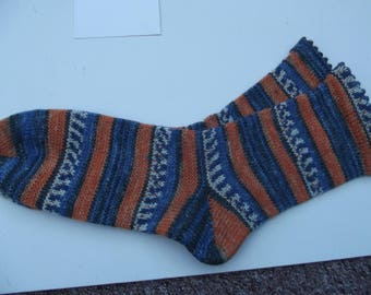 Hand Cranked warm socks