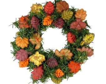 6 Inch Autumn / Thanksgiving Wreath