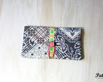 "Door-checkbook ""Sirok"" printed patterns"