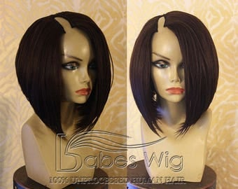 100 human hair wigs u part wigs hair extensions by babeswig brazilian human hair short bob u part human hair wigs on sale u part bob wig pmusecretfo Image collections
